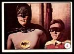 1966 Topps Batman Bat Laffs #4   Batman & Robin Front Thumbnail