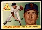 1955 Topps #204  Frank Smith  Front Thumbnail