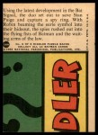 1966 Topps Batman Red Bat #16   Portable Bat Signals Back Thumbnail