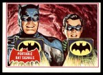 1966 Topps Batman Red Bat #16   Portable Bat Signals Front Thumbnail