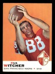 1969 Topps #91  Dick Witcher  Front Thumbnail