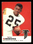 1969 Topps #24  Jerry Simmons  Front Thumbnail