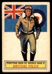 1966 A and BC England Battle #63   British Pilot Front Thumbnail