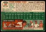 1954 Topps #38 WHT Eddie Stanky  Back Thumbnail