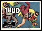 1966 Topps Batman Black Bat #18   Robin in Action Front Thumbnail