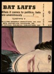 1966 Topps Batman Bat Laffs #49   The Riddler Back Thumbnail
