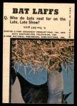 1966 Topps Batman Color #9   Batman & Riddler Back Thumbnail
