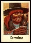 1966 Leaf Good Guys Bad Guys #46  Geronimo  Front Thumbnail