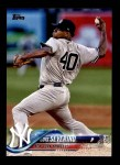 2018 Topps #303 A Luis Severino  Front Thumbnail