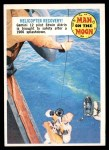 1970 Topps Man on the Moon #43 B  Helicopter Recovery Front Thumbnail