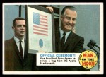 1970 Topps Man on the Moon #40 B  Official Ceremony Front Thumbnail