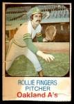 1975 Hostess #52  Rollie Fingers  Front Thumbnail