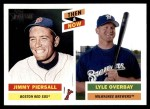 2005 Topps Heritage Then & Now #7 TN Jim Piersall / Lyle Overbay  Front Thumbnail