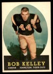 1958 Topps CFL #30  Bob Kelley  Front Thumbnail