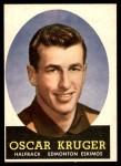 1958 Topps CFL #44  Oscar Kruger  Front Thumbnail
