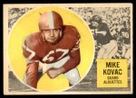1960 Topps CFL #43  Mike Kovac  Front Thumbnail