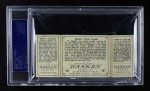 1912 T202 Hassan   -  Dots Miller / Fred Clarke Speaker Almost Caught  Back Thumbnail
