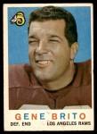 1959 Topps #2  Gene Brito  Front Thumbnail