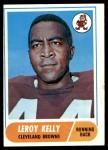1968 Topps #206  Leroy Kelly  Front Thumbnail