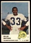 1961 Fleer #99  Ollie Matson  Front Thumbnail