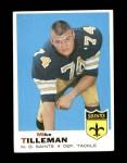 1969 Topps #218  Mike Tilleman  Front Thumbnail