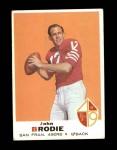 1969 Topps #249  John Brodie  Front Thumbnail