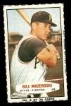 1963 Bazooka #6  Bill Mazeroski  Front Thumbnail