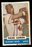 1960 Bazooka #4  Hank Aaron  Front Thumbnail