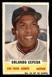 1960 Bazooka #10  Orlando Cepeda  Front Thumbnail