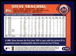 2003 Topps #152  Steve Trachsel  Back Thumbnail