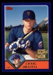 2003 Topps #320   -  Craig Brazell First Year Front Thumbnail