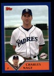 2003 Topps #376  Charles Nagy  Front Thumbnail