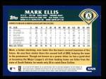2003 Topps #388  Mark Ellis  Back Thumbnail