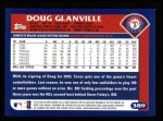 2003 Topps #389  Doug Glanville  Back Thumbnail