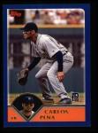 2003 Topps #416  Carlos Pena  Front Thumbnail