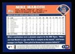 2003 Topps #438  Mike Maroth  Back Thumbnail