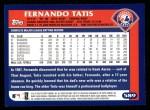 2003 Topps #589  Fernando Tatis  Back Thumbnail