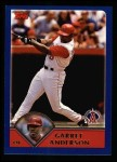2003 Topps #600  Garret Anderson  Front Thumbnail