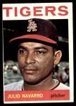 1964 Topps #489  Julio Navarro  Front Thumbnail