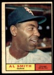 1961 Topps #170  Al Smith  Front Thumbnail