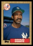 1987 Topps Traded #40 T Cecilio Guante  Front Thumbnail