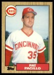 1987 Topps Traded #93 T Pat Pacillo  Front Thumbnail