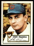 1952 Topps REPRINT #105  Johnny Pramesa  Front Thumbnail