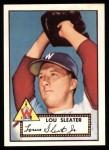 1952 Topps REPRINT #306  Lou Sleater  Front Thumbnail