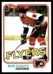 1981 Topps #104 E Bob Dailey  Front Thumbnail