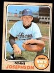 1968 Topps #329  Duane Josephson  Front Thumbnail