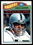 1977 Topps #380  Dave Casper  Front Thumbnail