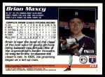 1995 Topps Traded #16 T Brian Maxcy  Back Thumbnail