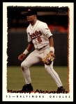 1995 Topps Traded #59 T Manny Alexander  Front Thumbnail