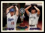 1995 Topps Traded #164 T  -  Hideo Nomo / Randy Johnson All-Star Front Thumbnail